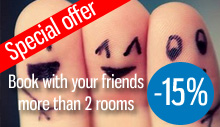 Special offer for booking more than 3 rooms